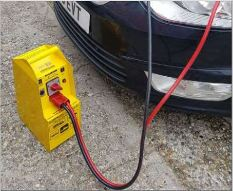 Car Battery Jump Start in City of London