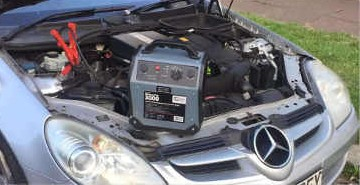 Car Battery Jump Start Enfield