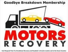 Car breakdown recovery London